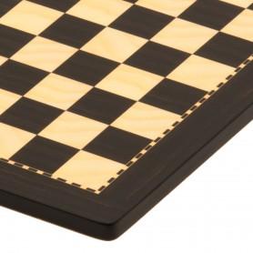 handmade wooden chessboard similar to Ebony and Maple