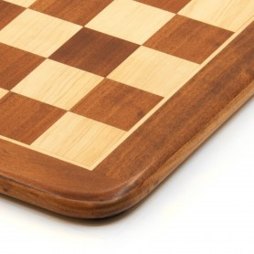 Chessboard rosewood and maple, inlaid