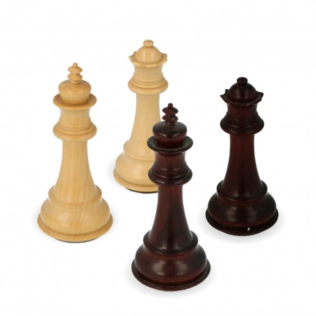 classic chess pieces Staunton model in rosewood gem carved and finished by hand